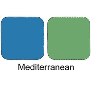 Duo Eye Shadows Compact - Mediterranean
