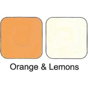 Duo Eye Shadows Compact - Orange & Lemons
