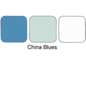 Trio Eye Shadows Compact China Blues