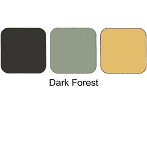 Trio Eye Shadow Compact Dark Forest