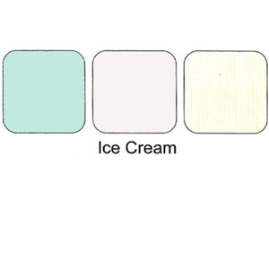 Trio Eye Shadows Compact Ice Cream