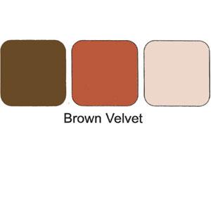 Trio Eye Shadows Compact Brown Velvet