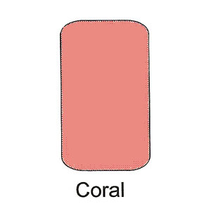 Blushers Powder Compact - Coral
